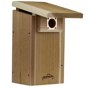 kettle moraine cedar bluebird house